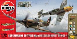 Spitfire Mk1a Messerschmitt