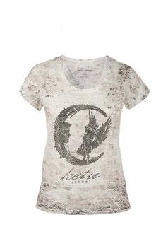 T-shirt KT7036 Motivo Luna brillante