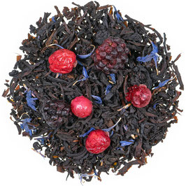 Schwarzer Tee Brombeer