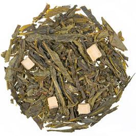 Grüner Tee Karamell mit Stücken