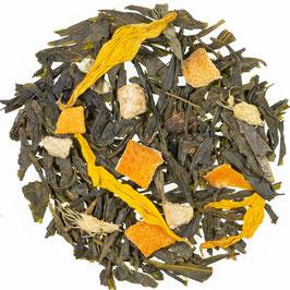 Grüner Tee Ingwer Zitrone natürlich