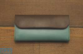 KUBIKI BELLOWS LONG WALLET