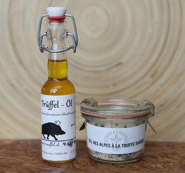 Trüffel-Öl mit Baselbieter Trüffel-Salz