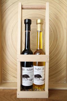 Trüffel-Öl und Trüffel-Balsamico