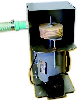 ★スマートバフ機・・・・・・ スピコン付■集塵装置付・・・コバ磨き用
