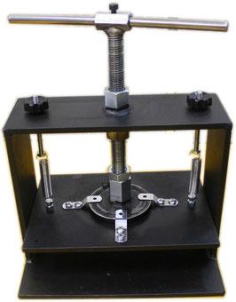 圧着プレス機(手動ハンドル式)A4サイズ