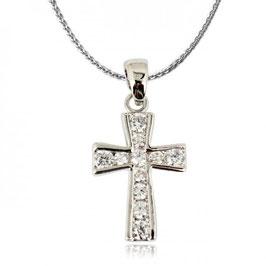 ANTONIA - Kreuz Anhänger Halskette