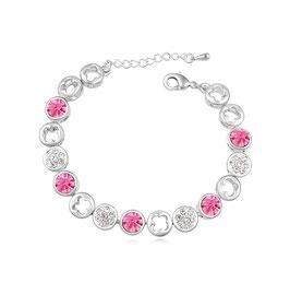 ***RETA - Armband mit Kristallen ROSA