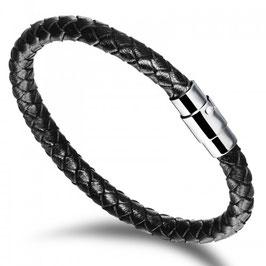 FYNN - Herrenarmband schwarz