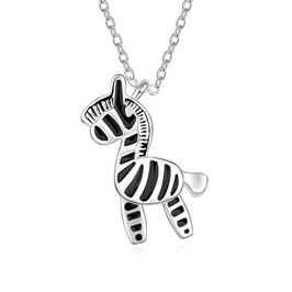 LIANE - Zebra Anhänger Halskette