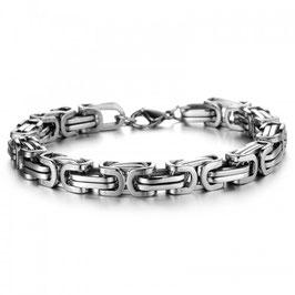 ***WILMER - Königsketten Armband SILBER