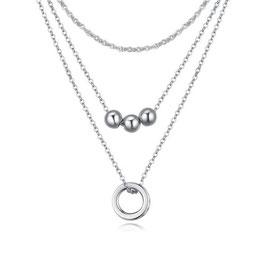 AKIRA – Halskette mit Zirkoniasteinen