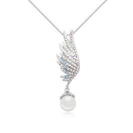 BABUNA - Halskette mit Perlenanhänger