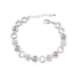RETA - Armband mit Kristallen Violette