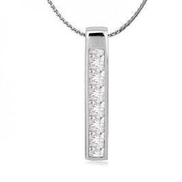 ***ANUSH – Halskette mit Zirkonia Anhänger