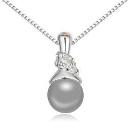 BERIT - Halskette mit Perlenanhänger