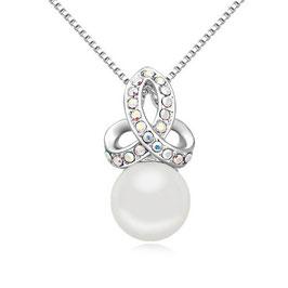 CAMILLE - Halskette mit Perlenanhänger
