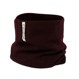 Мерино шал-яка тъмно бордо