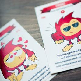 Комплект карти за игра с емоции
