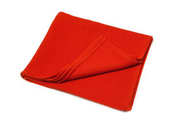 Голямо мериносово одеяло - оранжево