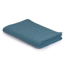 Детско одеяло от мерино вълна, размер 110х160см - синьо