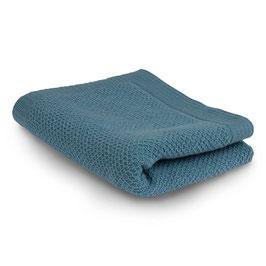 Бебешко одеяло от мериносова вълна, 80х100см - синьо