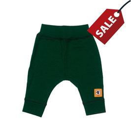 Бебешки панталонки от мериносова вълна в зелено