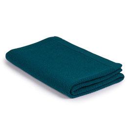 Голямо одеяло от мерино вълна размер 110х160см - петролено