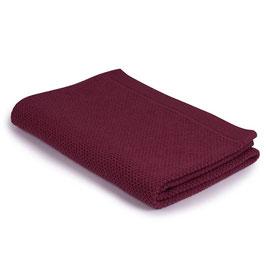 Детско одеяло от мерино вълна, размер 110х160см - тъмно розово