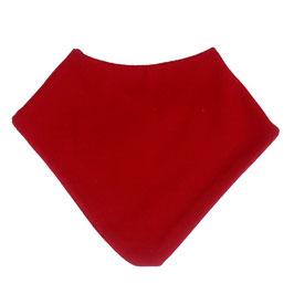 Бебешка бандана от мериносова вълна, червена