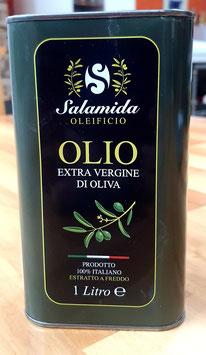 1 Liter Olivenöl extra vergine, kaltgepresst aus Apulien