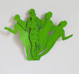 Gruppe grün
