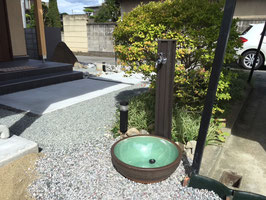 商品② 不凍栓カバー給水部穴有り  木目調8色 【在庫なし】受注後作成手配