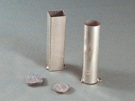 Pitons en aluminium carré ou rond
