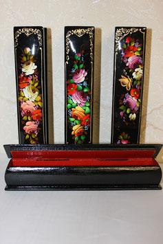 Лаковая миниатюра- Футляр для ручки  в ассортименте