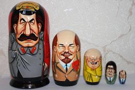 "Матрешка шарж ""Сталин"" 5мест"