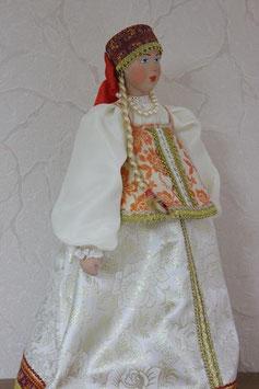 Кукла Костромская губерния, Белый костюм,