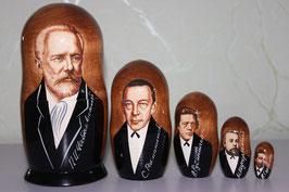 "Матрешка ""Чайковский"""