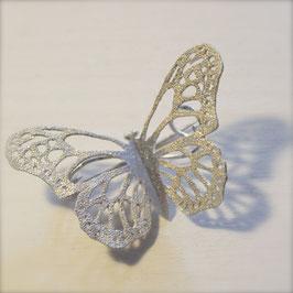 蝶のブローチ(アサギマダラ)
