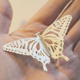 アゲハ蝶のブローチ L