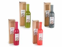 Bougie bouteille de vin