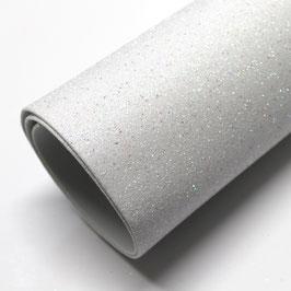 Gomma Eva (glitter)  40x60cm 2mm col. 17