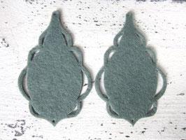 Orecchini in feltro 7x5 cm-col 65