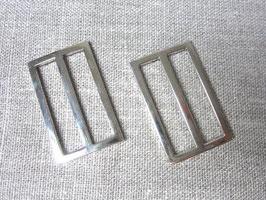 Fibbie argento cm 2,5