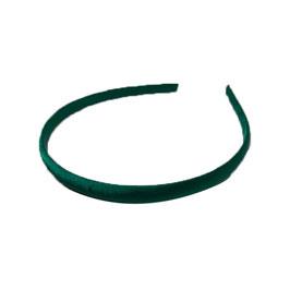 set 4 cerchietti in raso-col 25 smeraldo