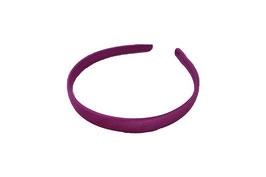 cerchietti per capelli 1,5 cm confezione 3 pz (col. 14 fuxia scuro )