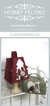 cartamodello-porta pandoro/panettone