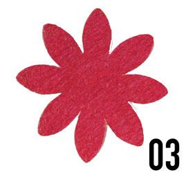 fiore 8 petali medio-conf. 4 pz