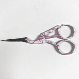 forbicina da ricamo 11,5 cm col. rosa