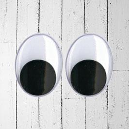occhi per bambole ovali-grande